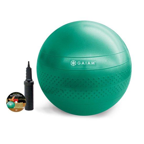 Gaiam TEXTURED BALANCE BALL KIT- MEDIUM