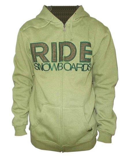 Ride HEATHERED FULL ZIP HOOD