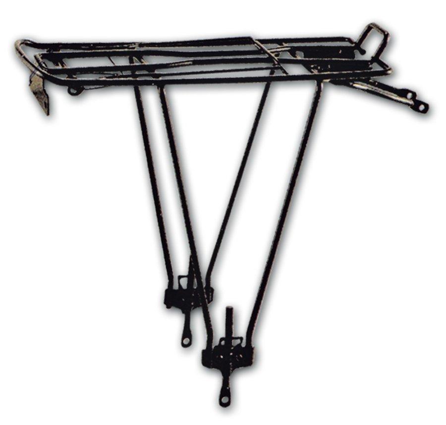 Cycledesign Багажник з кріпленням за подс.хомут і верхнє пір'я, для коліс 24-28