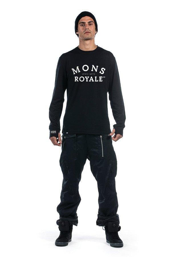 Mons Royale кофта термобілизна ORIGINAL LS